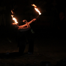 Feuerschluckerin