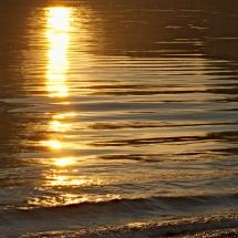 Wasser-Wellen-Licht
