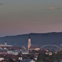 Vilshofen vom Galgenberg gesehen