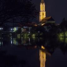 St. Johannes bei Nacht