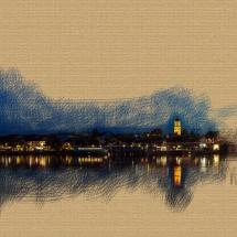 Vilshofen, malerischer Look