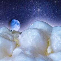 Molar, Mond und Sterne Composing
